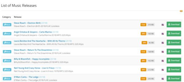 music torrenting download