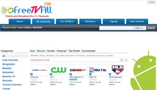 Online Tv Streaming Free