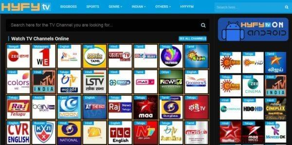 Live TV Streaming Sites Free, Top 27 Sites To Watch Online TV