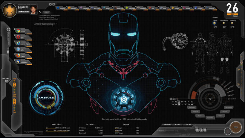 21 Best Rainmeter Skins For Windows, Make Your PC One In a