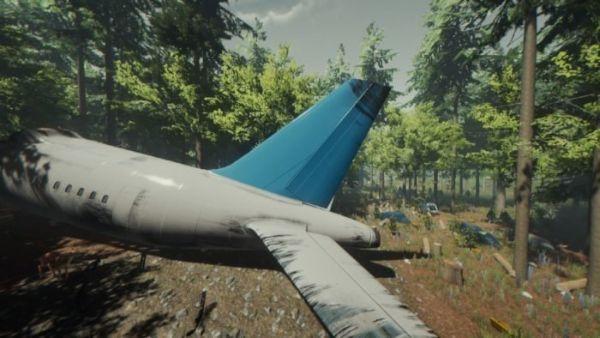 Skip Plane Crash